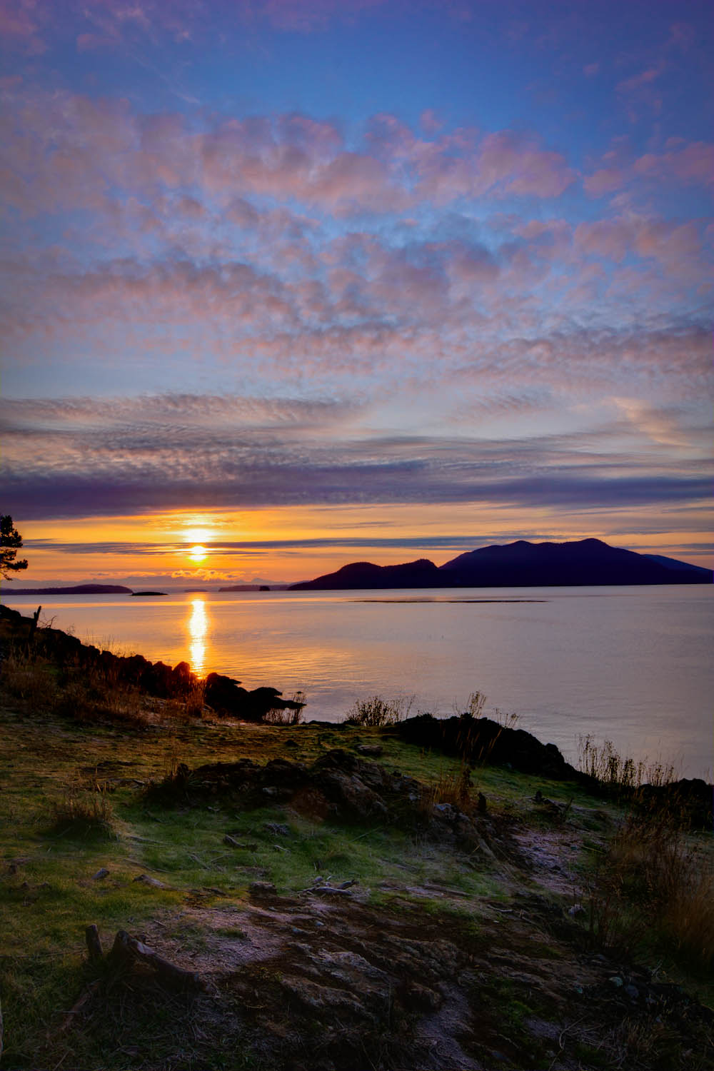 Sunrise at Doe Bay Resort, Orcas Island